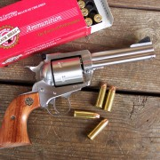 Cascio likes the Ruger New Model Blackhawk for much of his handgun hunting with a .44 Mag, load it up with some outstanding Black Hills Ammunition's 240-gr JHP or their heavier 300-gr JHP and you're good to go for a day of hunting pleasure.