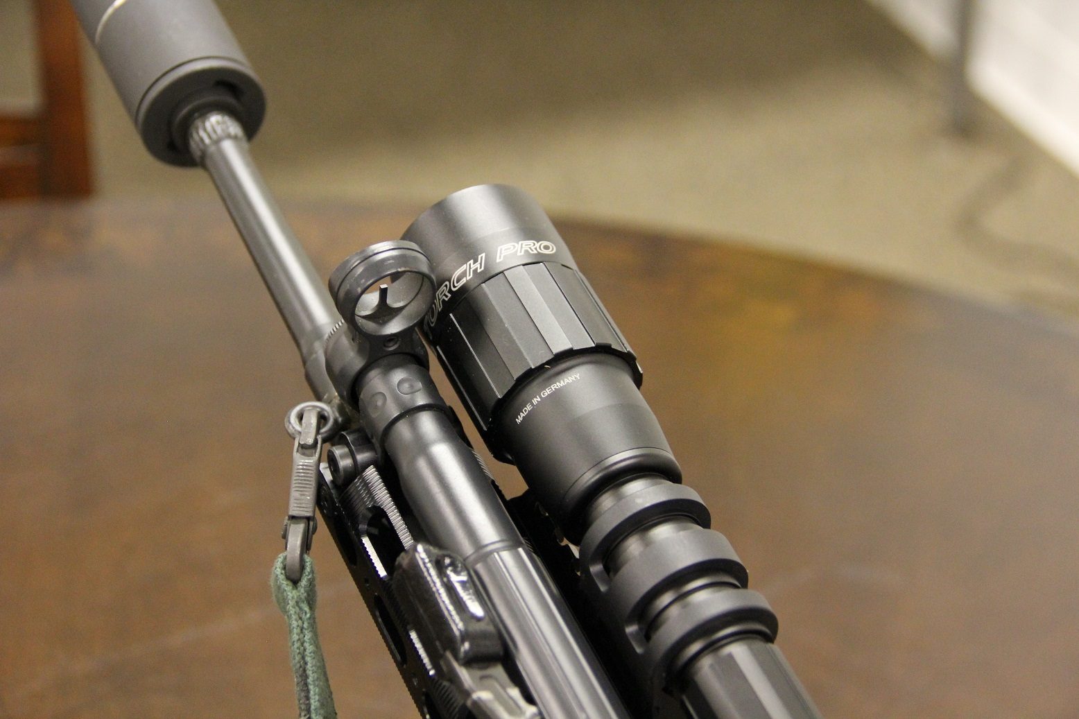 Hunting hogs with night vision, a machine gun, and a suppressor