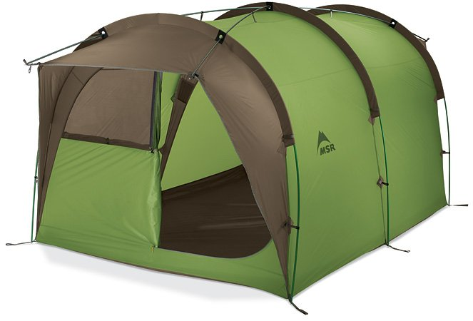 MSR's large tent for family camping