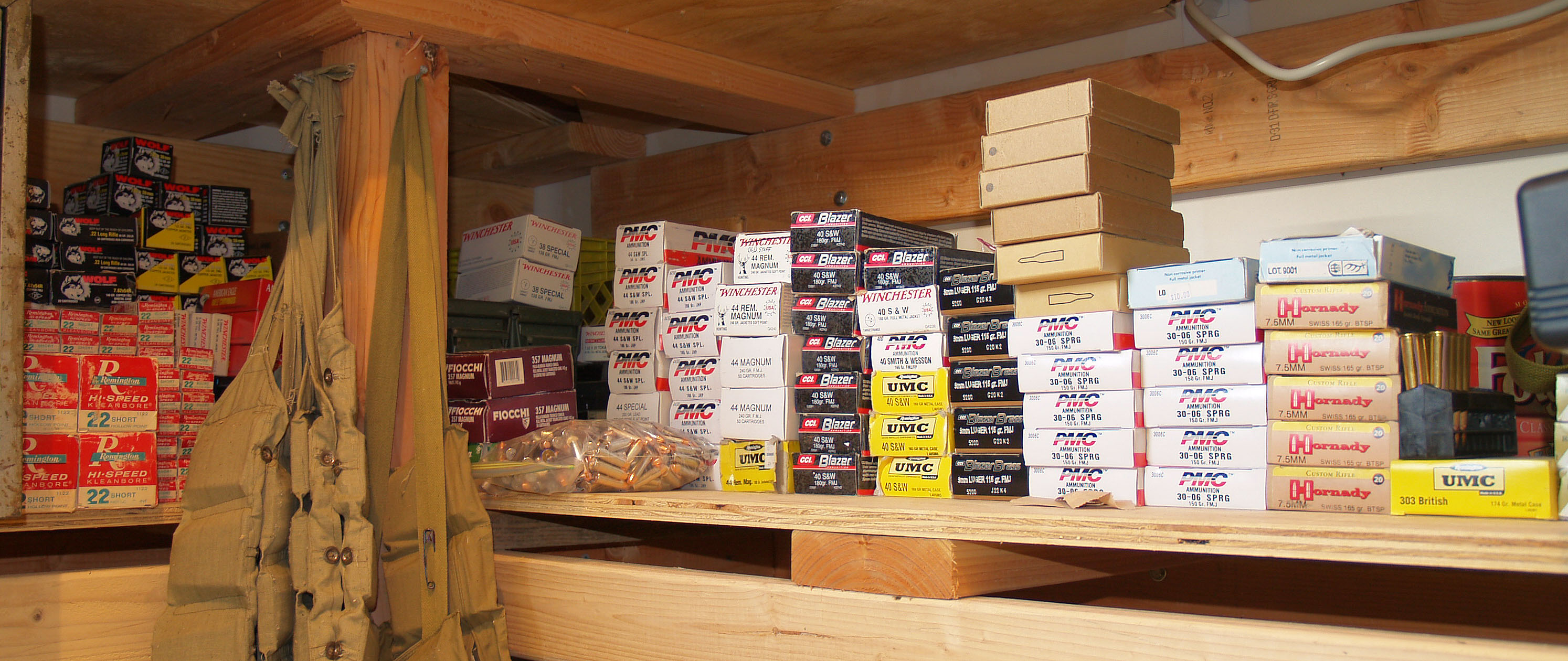 Bulk ammo for sale at pre-panic prices, eh!