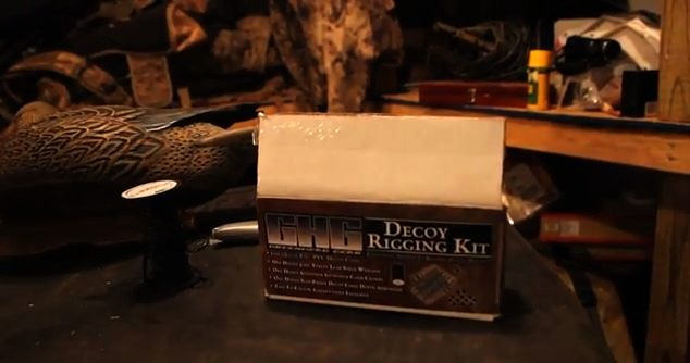 VIDEO: Texas rigging waterfowl decoys