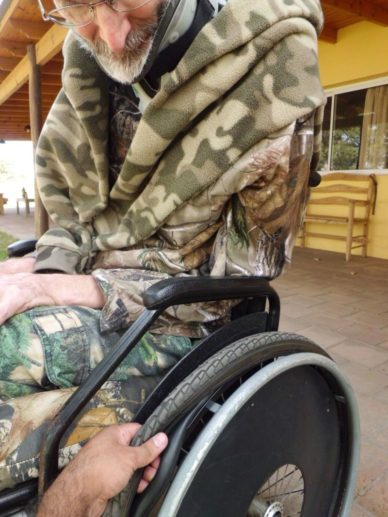 CamoTherapy: flat tires