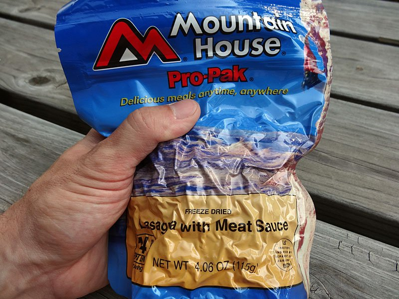 Lightweight food for backpacking