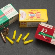 The only rimfire ammunition available in some areas may be odds and ends of uncertain age and provenance.