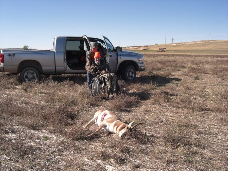 CamoTherapy: permit to hunt from a vehicle