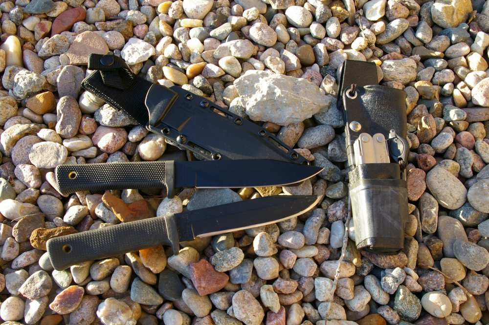 Cold Steel SRK Survival Rescue Escape Knife