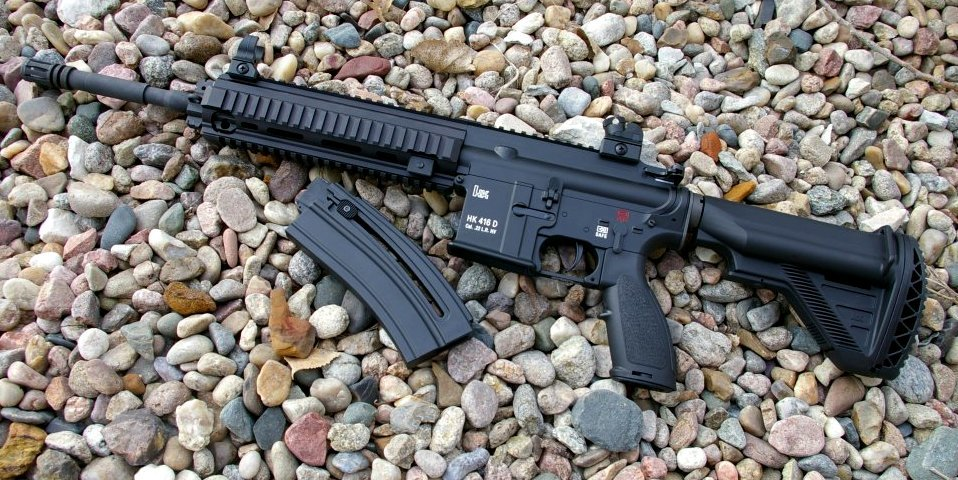 HK 416 D145RS .22 LR AR15 Rifle