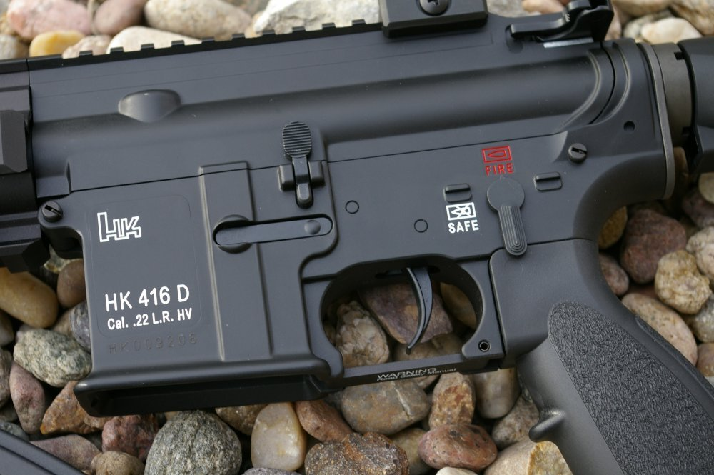 HK 416 D145RS  22 LR AR15 Rifle - AllOutdoor com