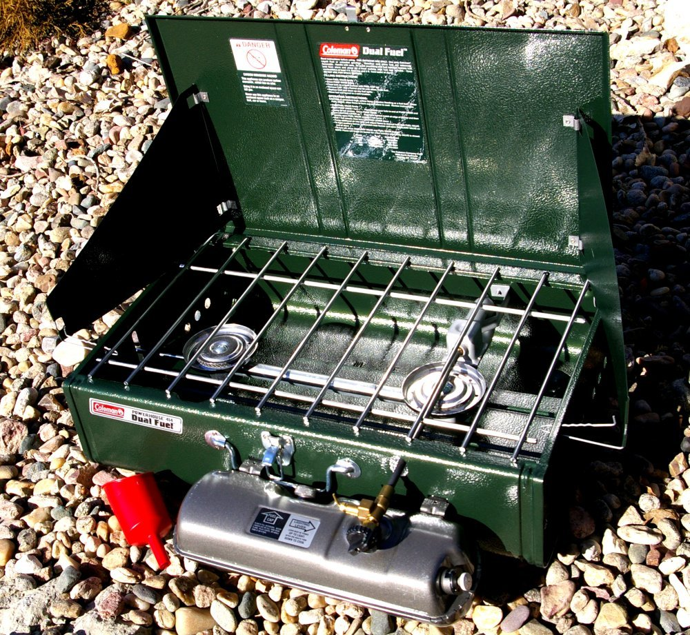 Coleman Sportster and Powerhouse Dual Fuel stoves - AllOutdoor.com