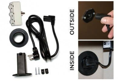 Fatboy Feature Electrical outlet kit