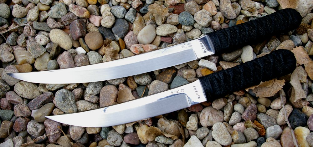 James Williams's Shinbu and Hisshou Short Swords