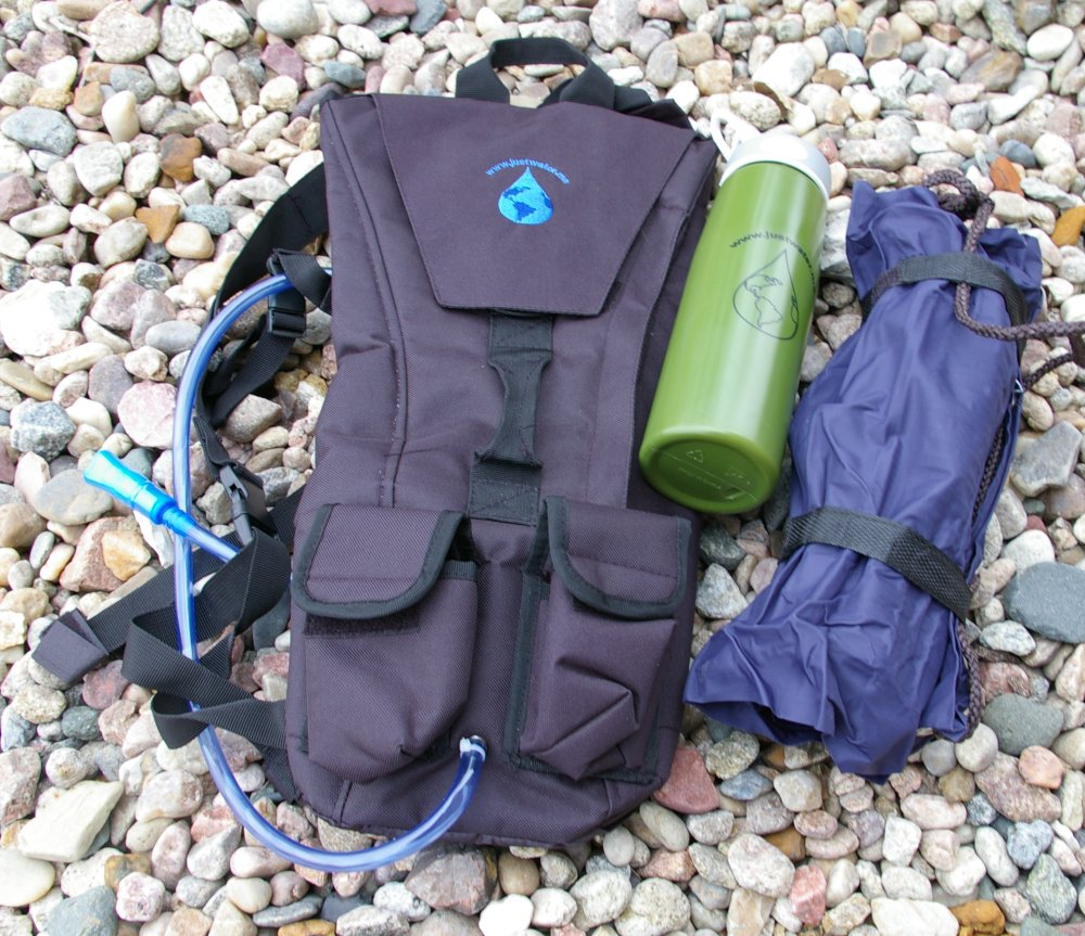 "Review: ""Just Water"" Backpack, Bottle, and Water Bag Filter"