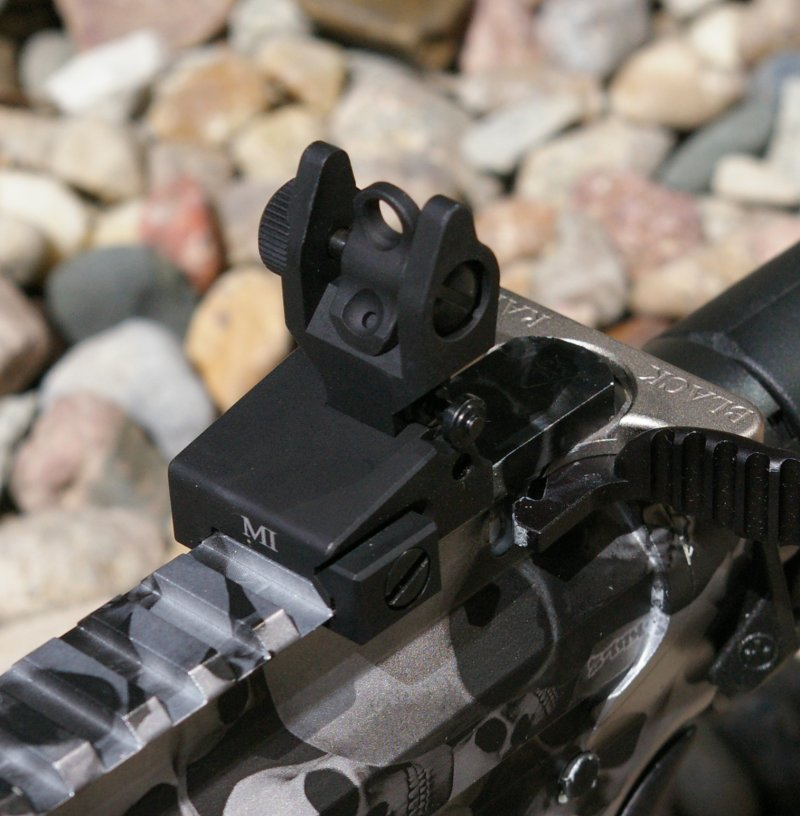 Midwest Industries Low-Profile Sights for the AR-15