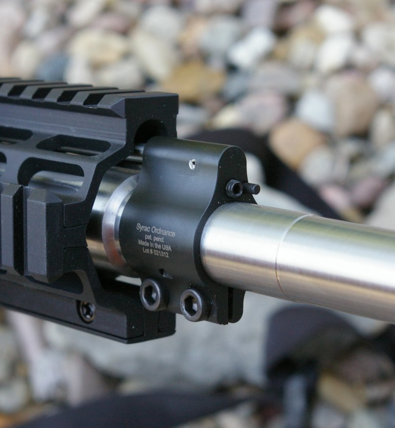 Syrac Ordnance Adjustable AR-15 Gas Block