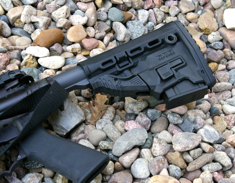 The Mako Group Survival Buttstock with Built-In Magazine Carrier