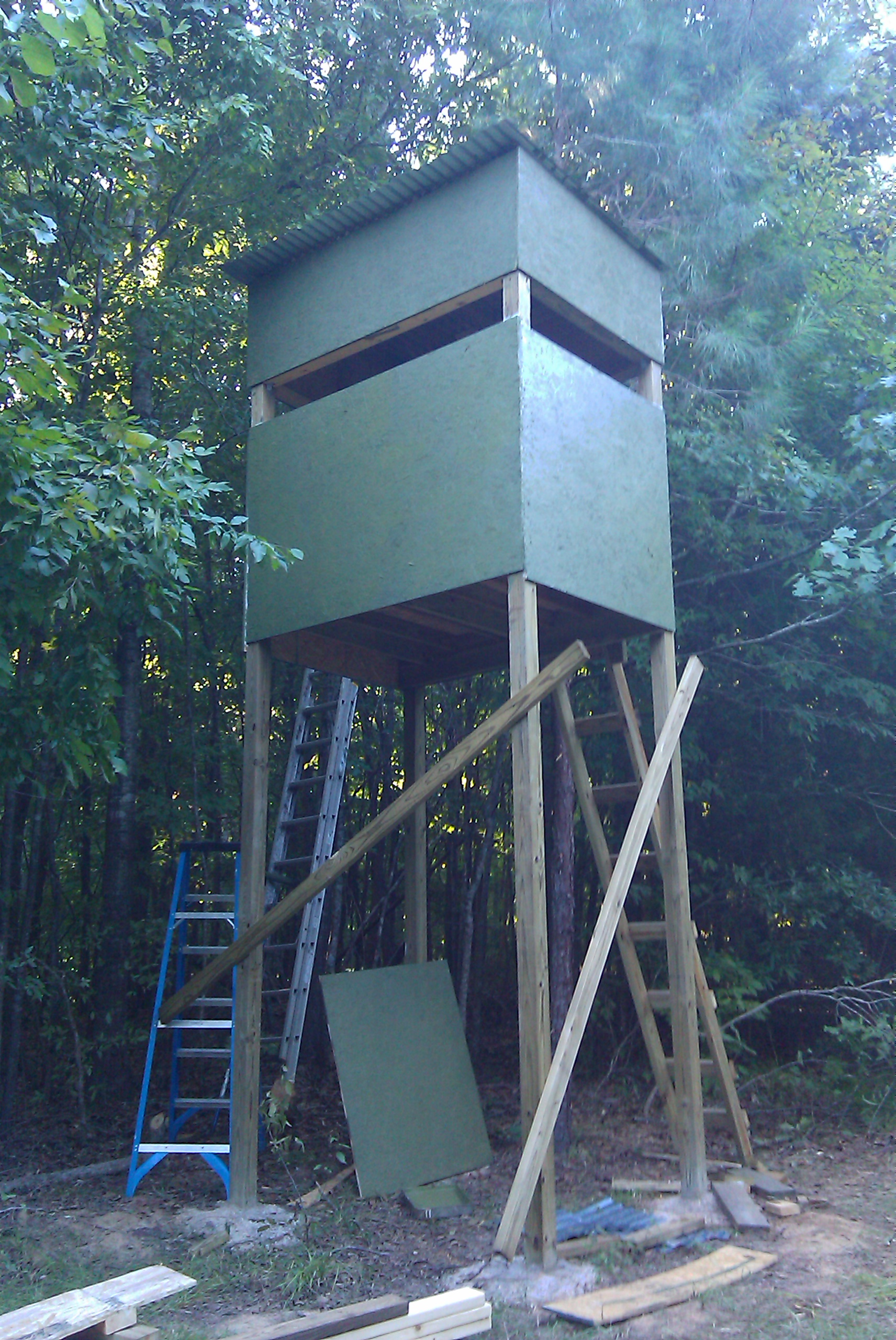 Pros And Cons Of Fixed Deer Stands Alloutdoor Com