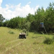 ATV on hunting lease