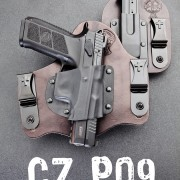 CZ P09 and a spare magazine shown in Crossbreed holster and mag pouch.