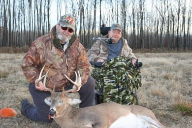 Ralph and Don with their Wisconsin 8-point