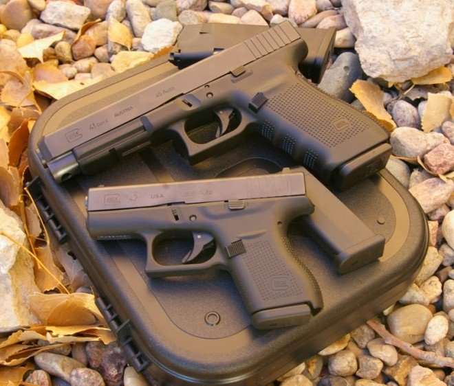 First Look at the 2014 Glocks: G41 in .45ACP and G42 in .380