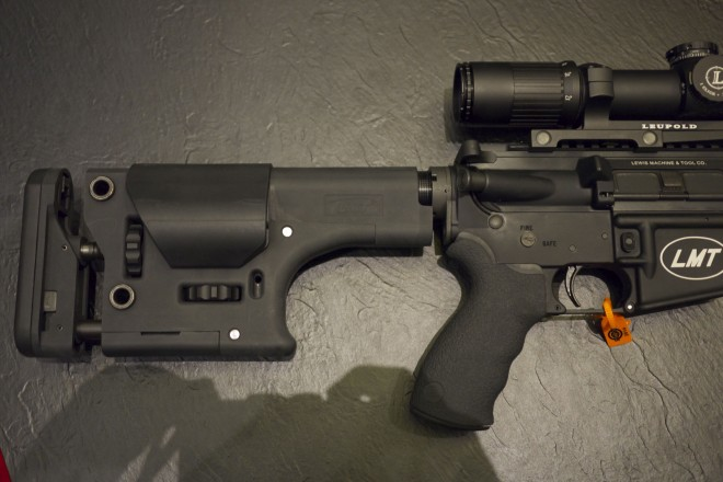 LMT's New SLK8 is Aimed Right at the 3-Gun Crowd -The Firearm Blog