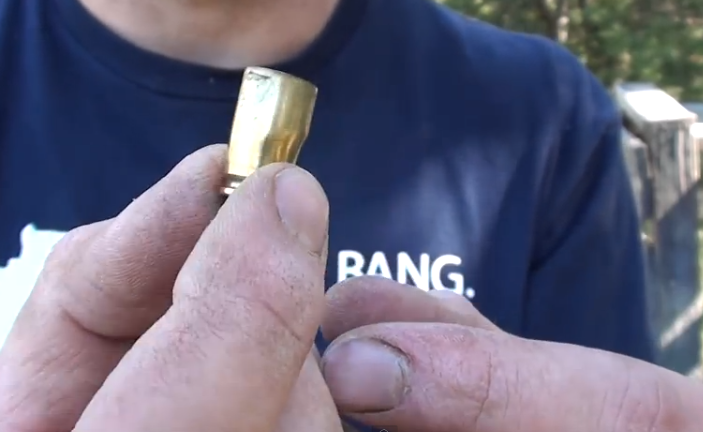 Firing the Wrong Caliber Bullets in a Handgun