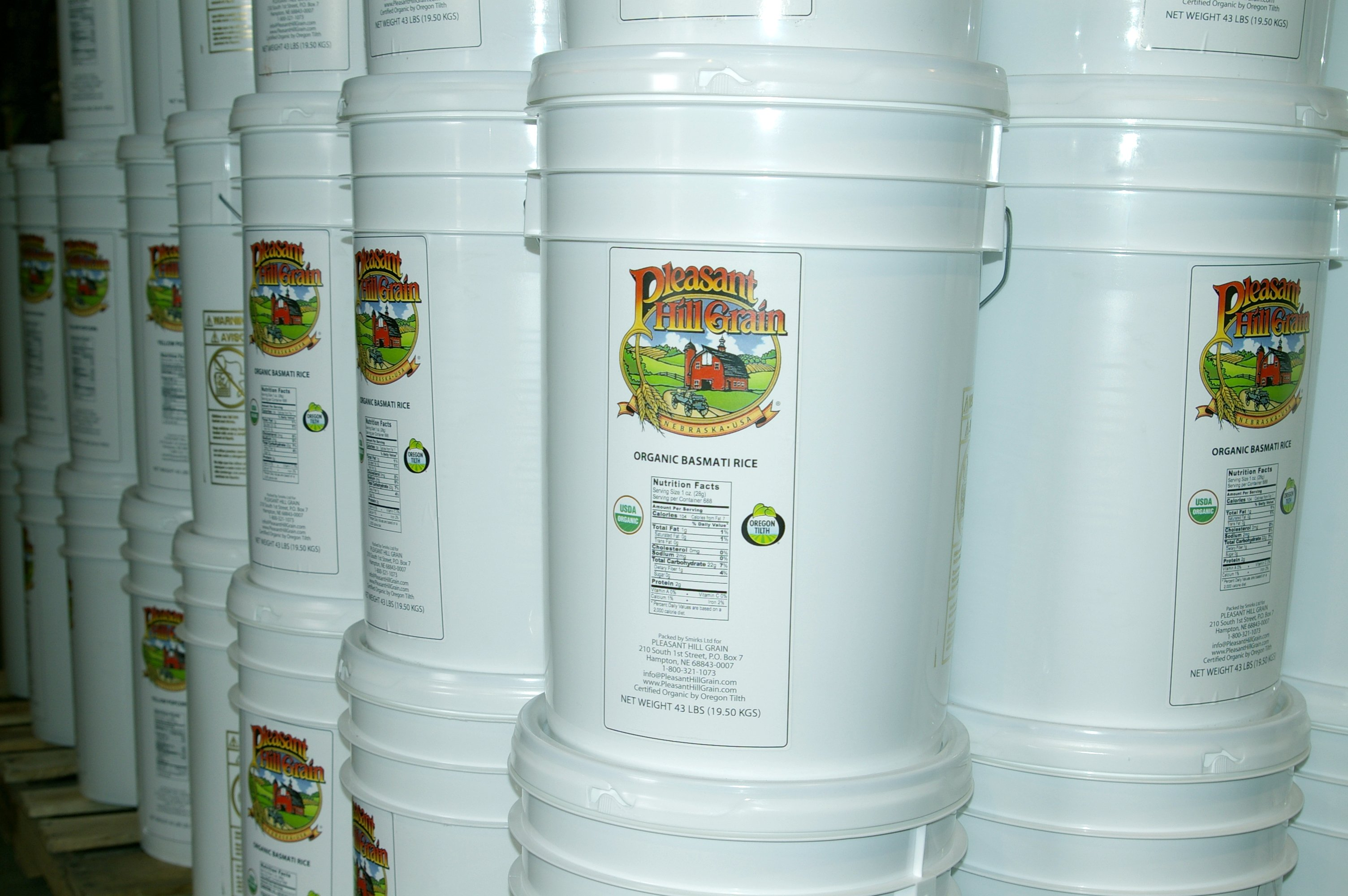 IMGP2399 & Long-Term Bulk Storage Grains and Preparedness Foods - AllOutdoor ...