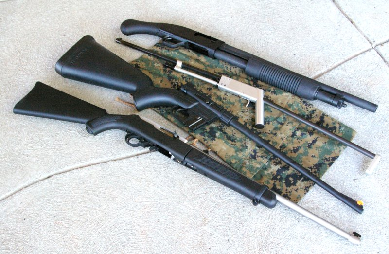 Lowdown on Breakdown Survival Rifles