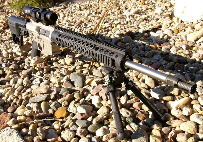 Ultimate Lightweight .308 AR Hog Rifle