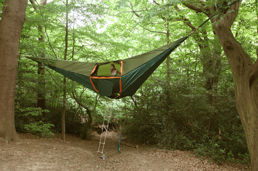 Wanna See Something Brilliant? Take A Look At This Hammock Tent.