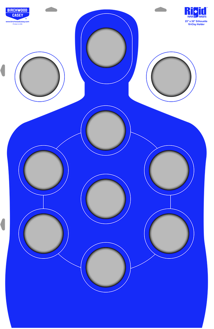 New Birchwood Casey Target That Holds Clays