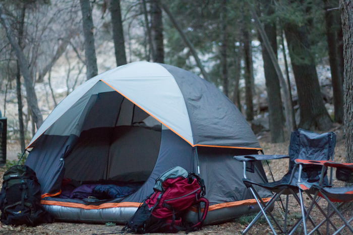 World's First Tent With a Patent-Pending Inflatable Base