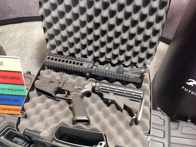 Compact Hydra AR Rifle Fits in a Pistol Case