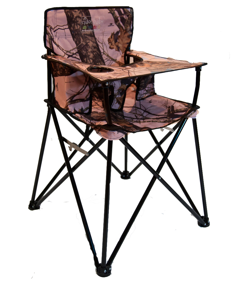 Pink Camo High Chair: Where Will the Craze End?