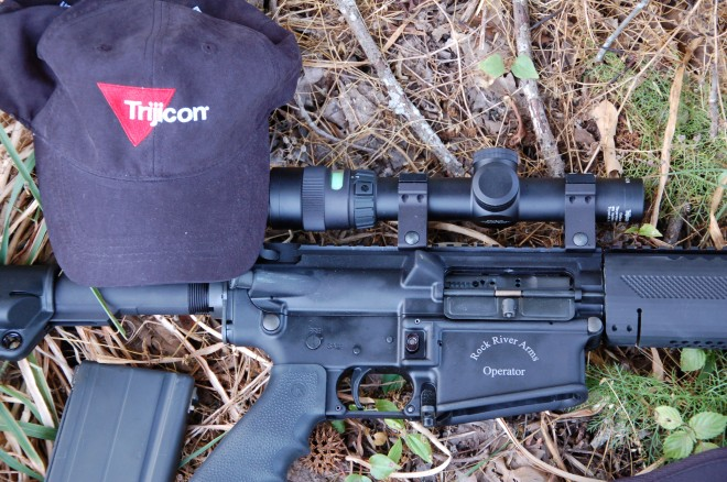 trijicon scope top tactical optic for hunting alloutdoor