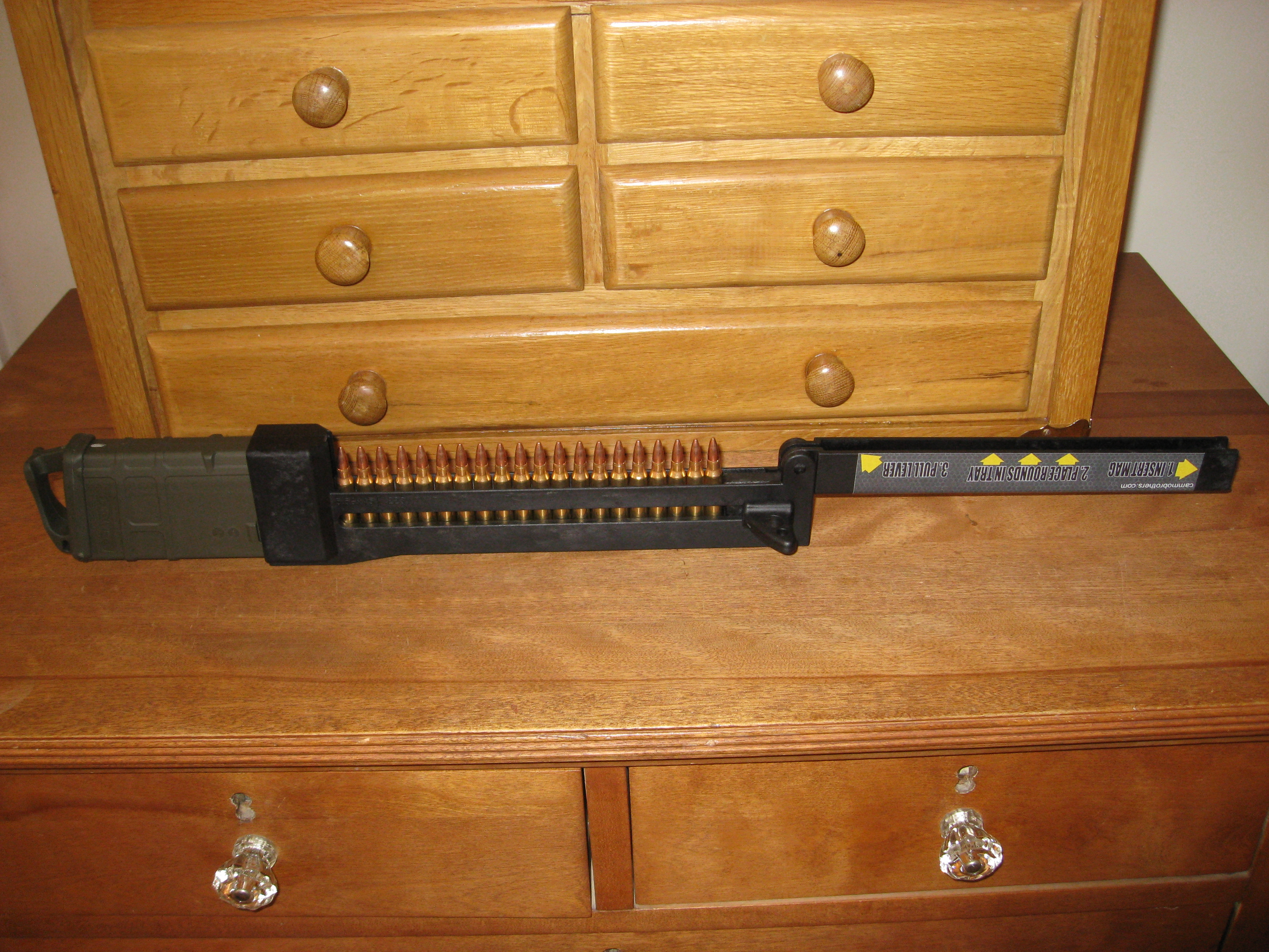 AR-15 Magazines: Management and Speed-Loading