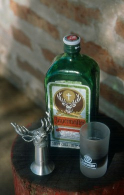 Jaegermeister features a stag on the label.
