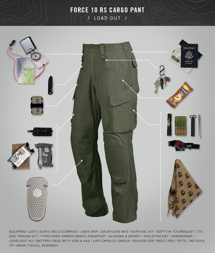 TAD Force 10 Cargo Pants