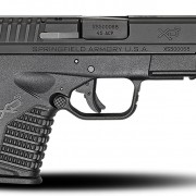 "Springfield Armory XD-S 4.0"" Single Stack 45 ACP, Black finish."