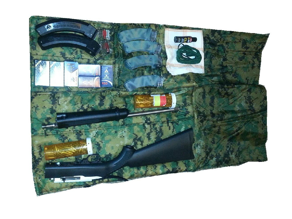 Ruger 10/22 Takedown Roll-up Case