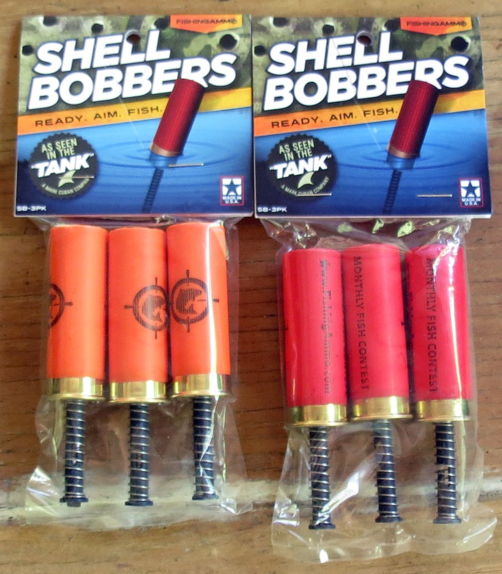 Shell Bobbers by Fishing Ammo