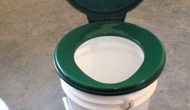DIY Portable Toilet for Hunting or Camping