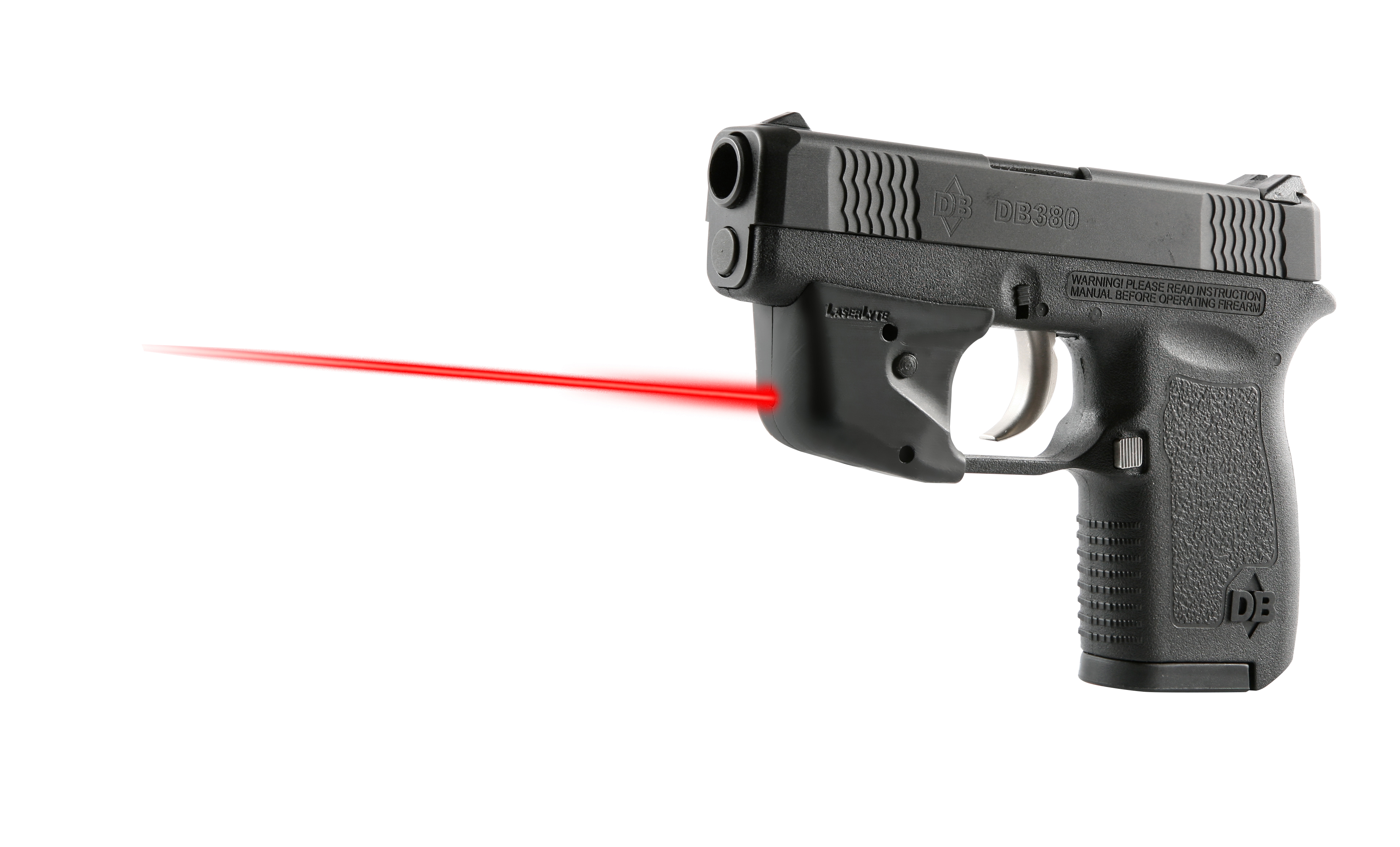 Diamondback Micro-Compact Pistols Available with LaserLyte Sights