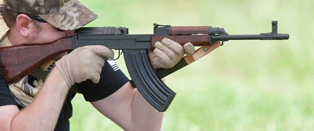 Unlike the M1 carbine and the AK, vz58 has last-shot bolt hold-open.