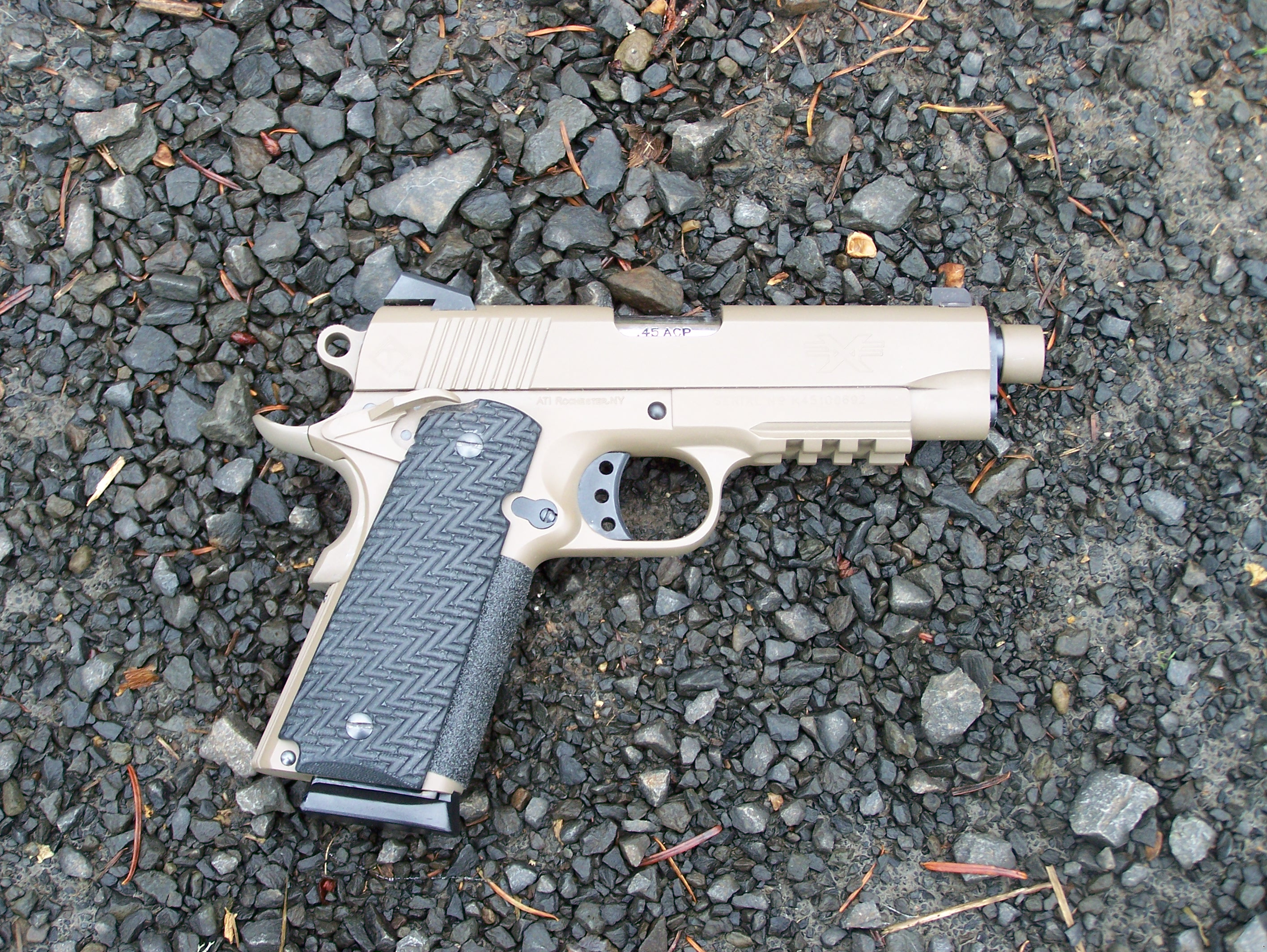 American Tactical Imports 1911 TALO Review