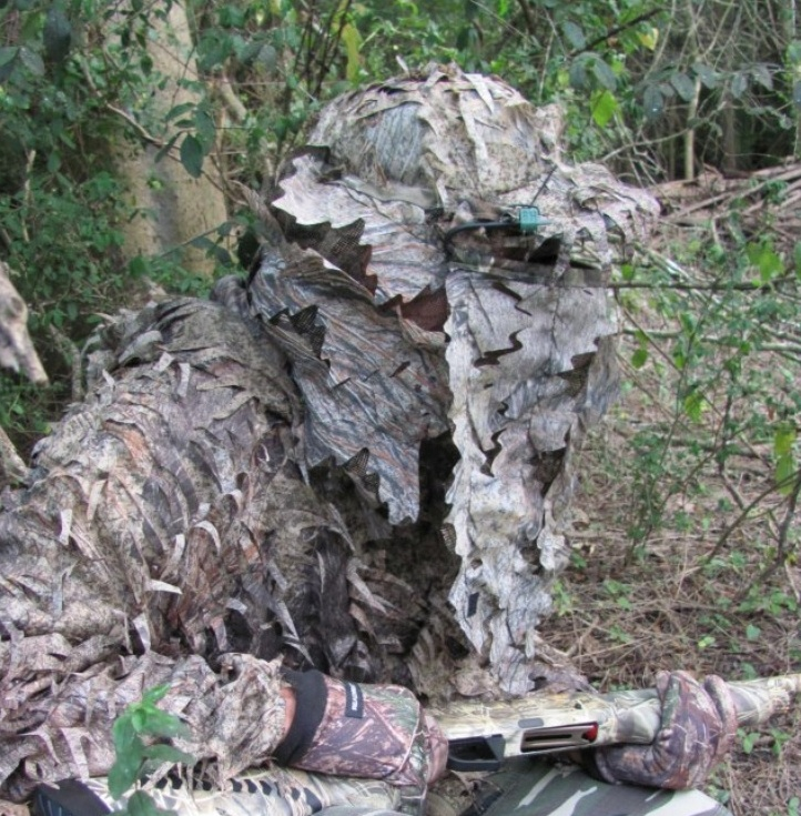 No-Touch Camo Face Mask for Hunters