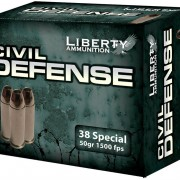 Liberty Ammunition Civil Defense 38 Special