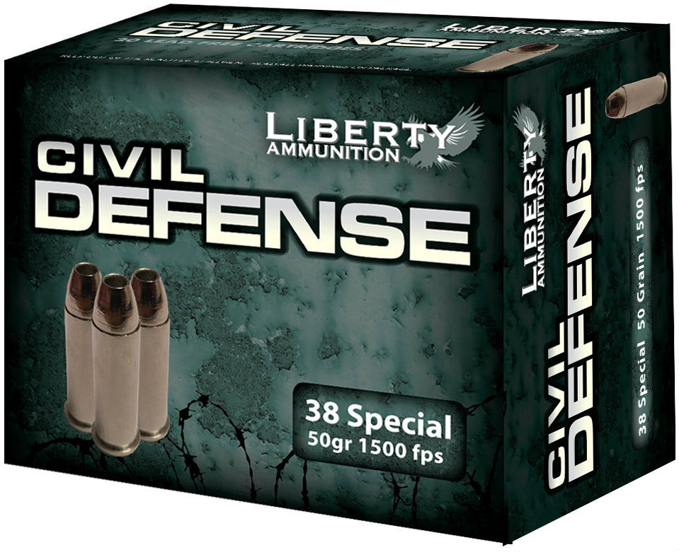 Liberty Ammunition's Lead-Free Civil Defense Ammo Adds 38 Special