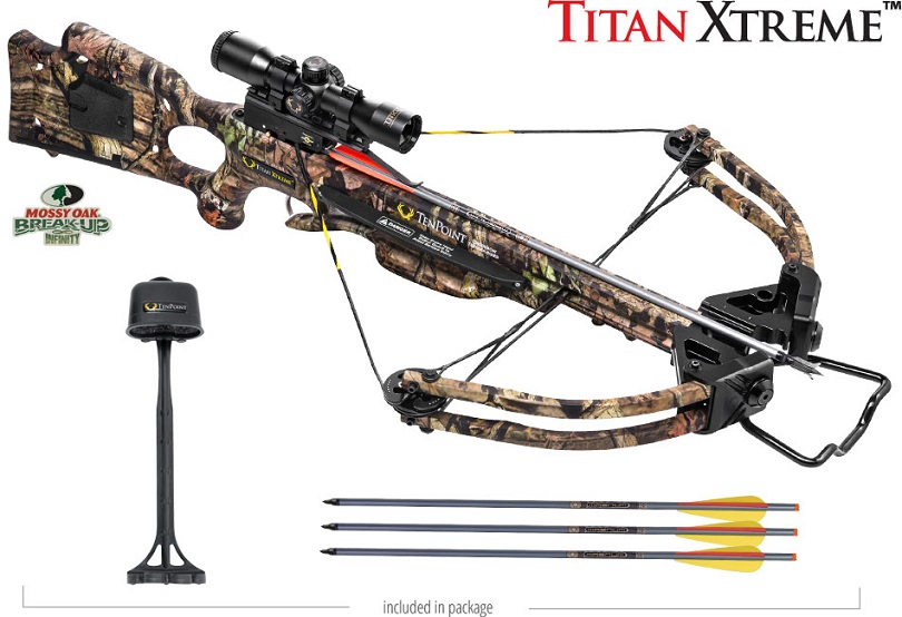 Win a Titan Xtreme Crossbow Package from TenPoint!