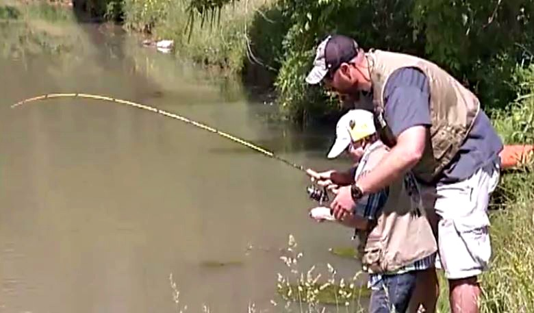 Children's Hospital Patient Hooks Catch of a Lifetime with Steelers Player